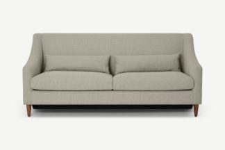 An Image of Herton 3 Seater Sofa Bed, Barley Weave