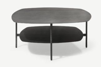 An Image of Tayen Square Coffee Table, Gunmetal