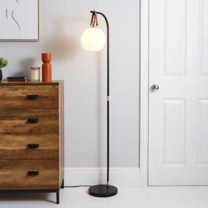An Image of Joan Floor Lamp Black