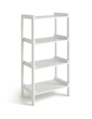 An Image of Argos Home Freestanding 4 Tier Shelving Unit - White