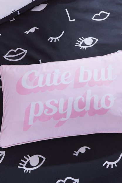 An Image of Cute But Psycho Cushion