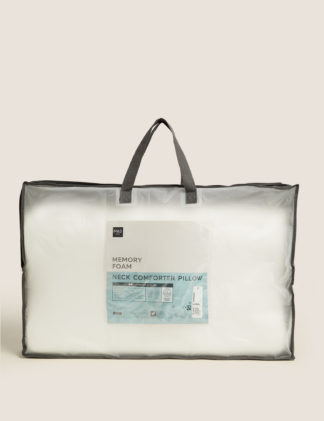 An Image of M&S Neck Comforter Memory Foam Pillow
