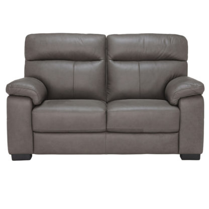 An Image of Clark 2 Seater Leather Sofa