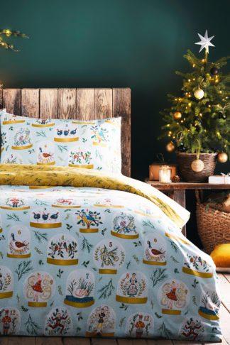 An Image of 12 Days Of Christmas King Duvet Set
