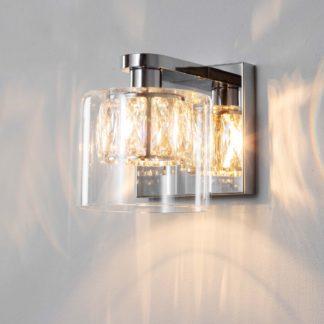 An Image of Vogue Armoury Wall Light Chrome