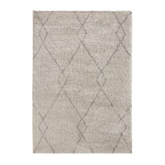 An Image of Accra Berber Rug Accra Grey and White