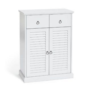 An Image of Argos Home Le Marais 2 Door Double Unit Cabinet - White