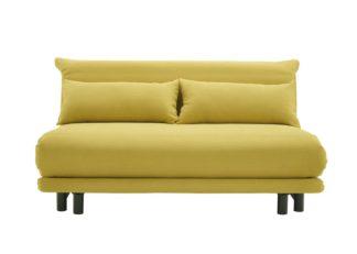 An Image of Ligne Roset Multy Premier Sofa Bed Amalfi Safran
