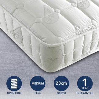 An Image of Matrah Orthopedic Mattress White