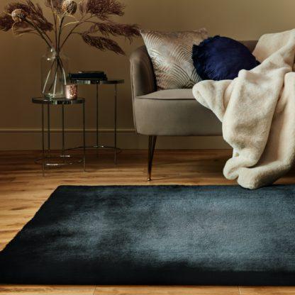 An Image of Plush Faux Fur Rug Faux Fur Plush Chateau Grey